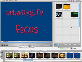 screengrab from iMovie