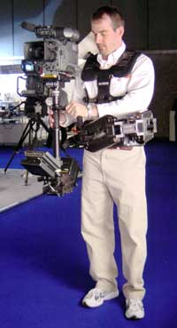 Thomas Howie, Glidecam's marketing manager, 